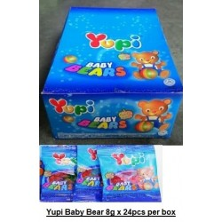 Yupi Gummy Bear 8g x 24pcs per box