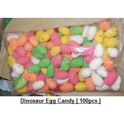 Dinosaur Egg Candy 100pcs