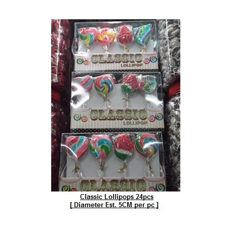 Classic Lollipops 24pieces