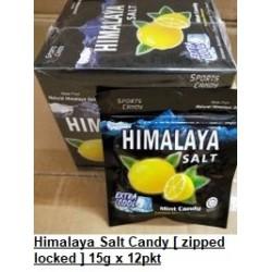 Himalaya Salt Candy (Zipped lock pack) [Original / Ginger Lemon] 15g x 12packs