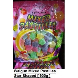 Waigun Mixed Pastilles [Star Shaped] 900g