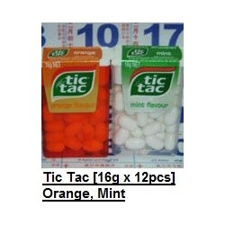 Tic Tac [Orange / Mint] 10.3g x 12pkt