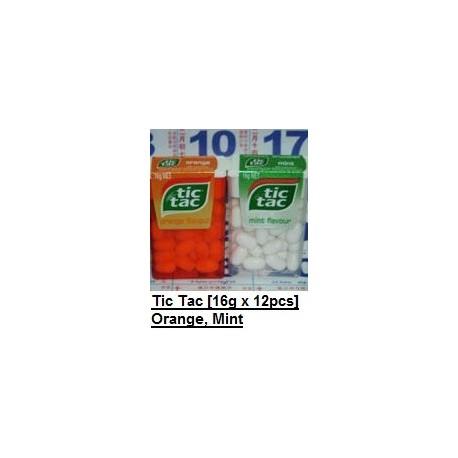 Tic Tac [ Orange / Mint ] 14.5g x 12pkt