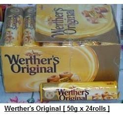 Werther's Original 50g x 24rolls