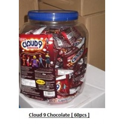Cloud 9 Chocolate 60pcs