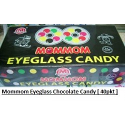 Mommom Eyeglass Chocolate Candy 40pkts