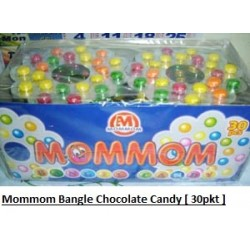 Mommom Bangle Chocolate Candy 30pkts
