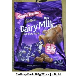 Dairy Milk Cadbury Pack 100g(22pcs) x 10packs