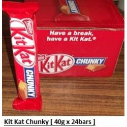 Kit Kat Chunky [UK] 40g x 24packs