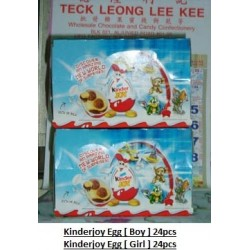 Kinderjoy Egg [Boy / Girl] Version 24pieces