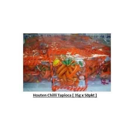 Houten Chilli Tapioca 35g x 50pkts