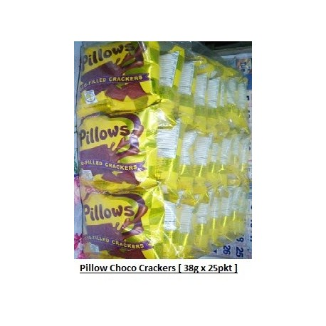 Pillow Choco-Filled Cracker 38g x 25pkts