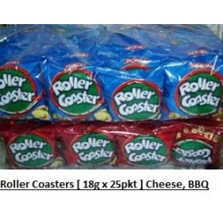 Roller Coasters [Cheese / BBQ] 18g x 25pkts