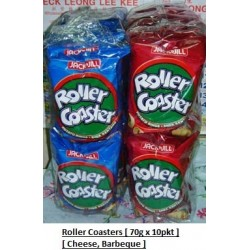 Roller Coasters [Cheese / BBQ] 70g x 10pkts