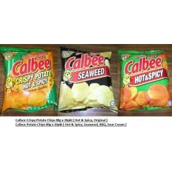 Calbee Crispy Potato [Hot & Spicy / Original] 75g x 20pkts