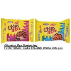 Chipsmore [Double Chocolate / Original Chocolate] 85g x 12packs