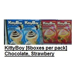 KittyBoy [Chocolate / Strawberry] 6boxes per pack
