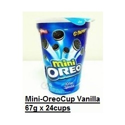 Mini Oreo Cups [Vanilla / Chocolate] 67g x 24cups