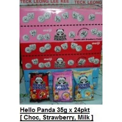 Meiji Hello Panda [Chocolate / Strawberry / Milk] 35g x 24pkts