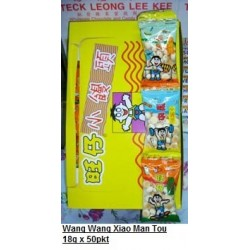 Wang Wang Xiao Man Tou 18g x 50pkts