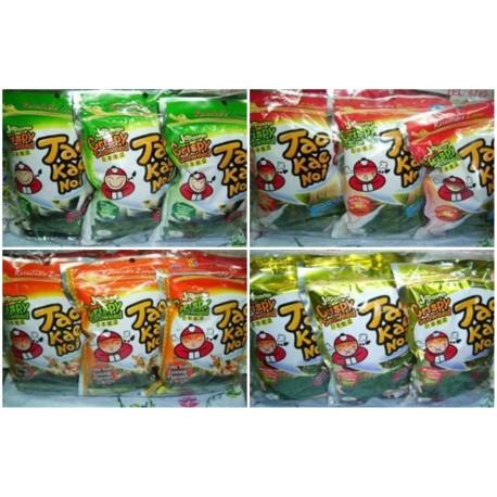 Tao Kae Noi [Original / Spicy / Tomyam / Sour Cream / Wasabi / Seafood ] 36g x 6pkts