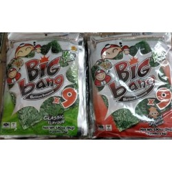 Tao Kae Noi Big Bag [Original / Spicy / Squid] 6g x 9pcs x 6bags