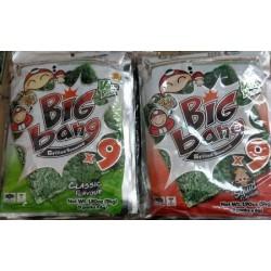 Tao Kae Noi Big Bang [Original / Spicy / Squid] 6g x 9pcs x 6bags