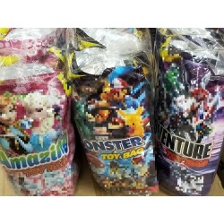 Toy Bags 6pkt [Amazing(Pink) / Monster(Blue) / Adventure(Purple)]