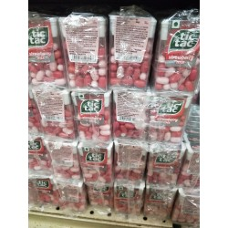 Tic Tac Strawberry 15.5g x 12pkt