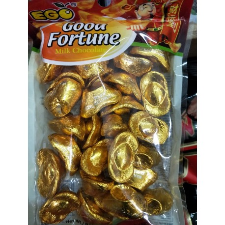 Gold Ingots Good Fortune 250g (Est 30pcs)