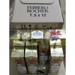 Ferrero Rocher T5 x 12packs