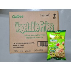 Calbee Vegetable Fries BBQ 45g x 30packs