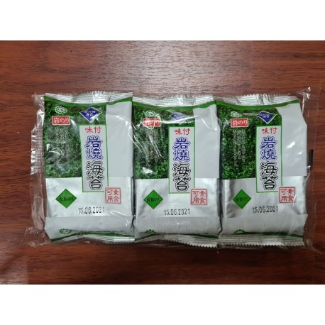 GW Korea Seaweed 6gm x 3pkts