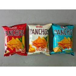Panchos 85g x 10pkts [BBQ / Cheese / Taco]