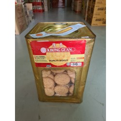 Khong Guan Marie Biscuit 3kg with Metal Tin