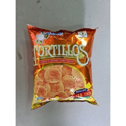 Tortillos Cheese Flavoured Corn Snacks 100g x 10pkts