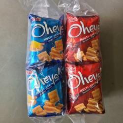 Oheya Multi-Grain Snack [Cheese / BBQ] 75g x 10pkts