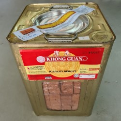 Khong Guan Chocolate Wafer Biscuit 4kg with Metal Tin