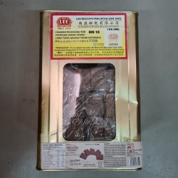 LEE Chocolate Cream Biscuit 5kg with Metal Tin (Refundable Tin)
