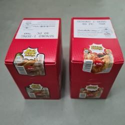 (BoBo) Ready to Eat Sausage 40g x 40pcs Halal [Chicken / Black Pepper]