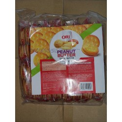 Ori Peanut Butter Sandwich Biscuits [ 480g(4pcs x 16pkt ) ]