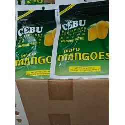 Dried Mangoes [ CEBU Philippines ] 100g x 6 pkt