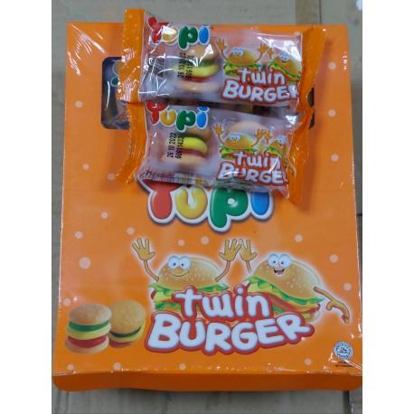 Yupi Twin Burger 16g x 24pcs