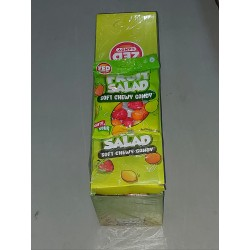 Zed Fruit Salad Soft Chewy Candy 90g x 16pkt