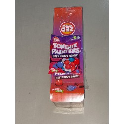 Zed Tongue Painters Soft Chewy Candy 90g x 16pkt