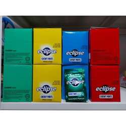 Eclipse Chewy Mints [Spearmint / Peppermint / Lemon / Strawberry ] 45g x 20packs
