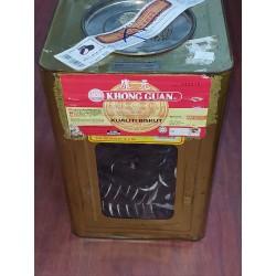 Khong Guan Vanilla Biskut Mega Cream [ 6 KG ] [ Metal Tin Returnable @ $3.00 ]