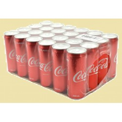 Coca-Cola Can Drink 330ml x 24Cans