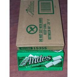 [ 132g x 12boxes ] Andes Mint Parfait Thins